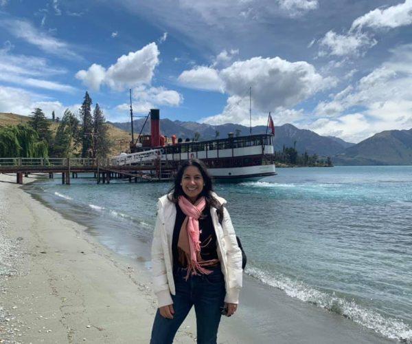 Maria at Lake