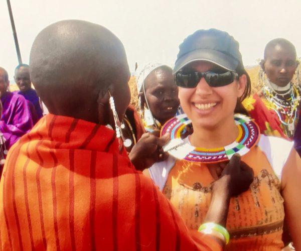 Maria in Kenya